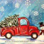 Christmas Painting Tutorial