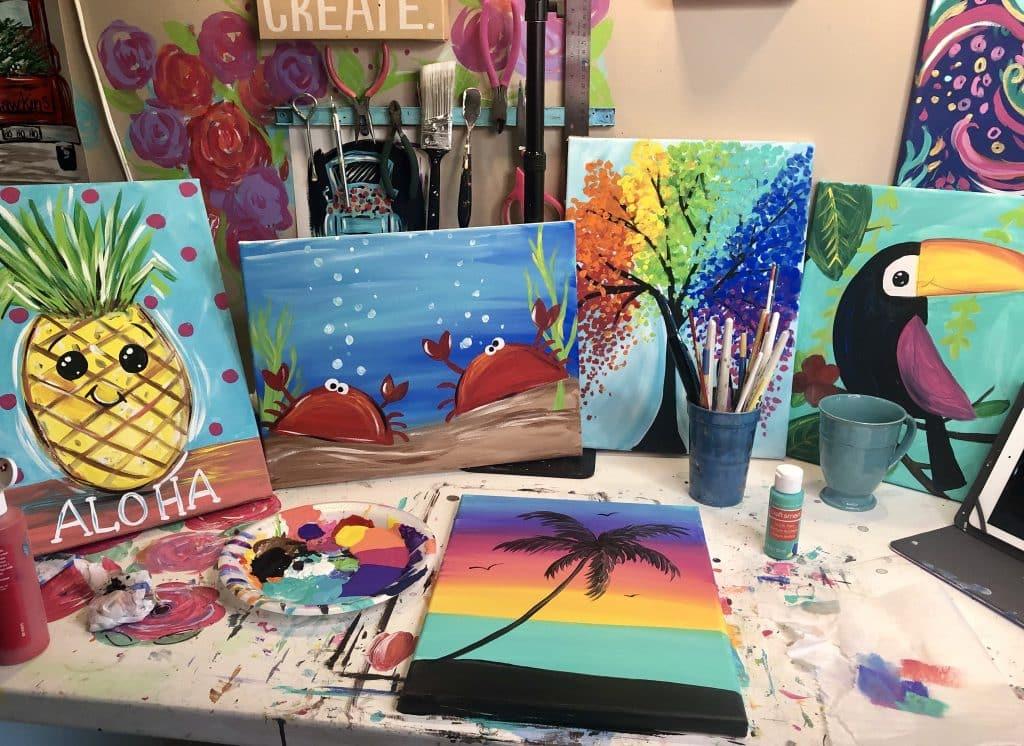 Kids Summer Art Camp-The Social Easel