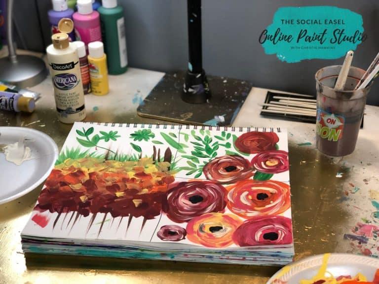 Angled Paint Brush