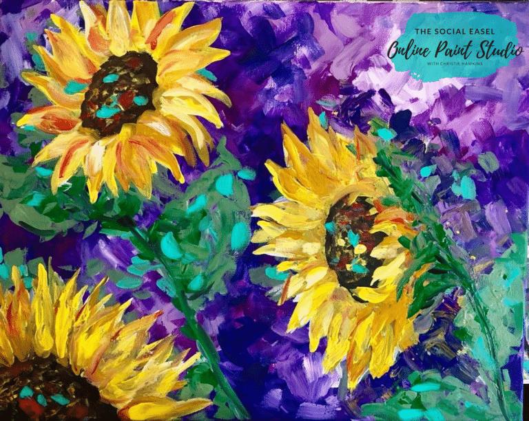 Single Flower Painting Tutorial