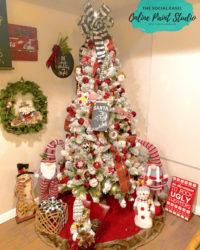 My Christmas Tree and Home Decor Tour