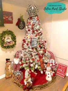 Christmas Tree Tour The Social Easel Online Paint Studio