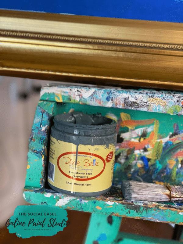 Dixie Belle Stormy Seas The Social Easel Online Paint Studio