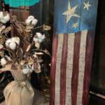 Mixed Media Americana Flag