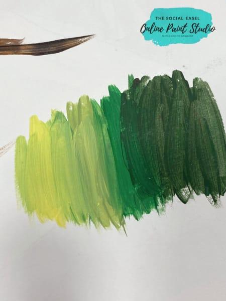 Color Values The Social Easel Online Paint Studio