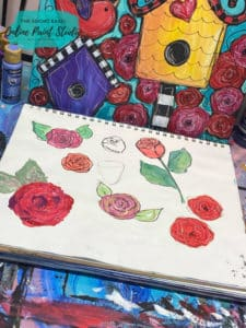 Painting Roses in All Different Ways The Social Easel Online Paint Studio