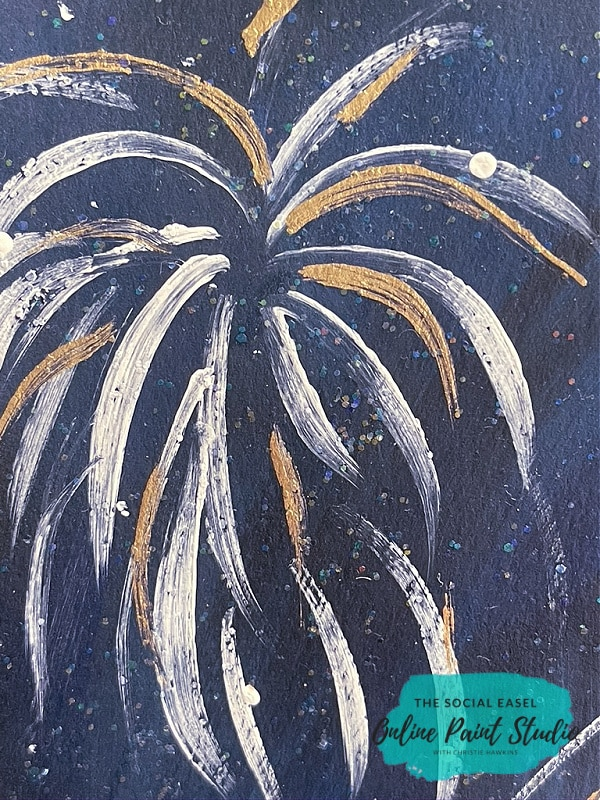 Fireworks and Glitter How to Paint a Patriotic Gnome The Social Easel