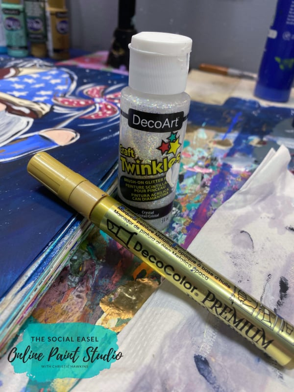 Supplies How to Paint a Patriotic Gnome The Social Easel