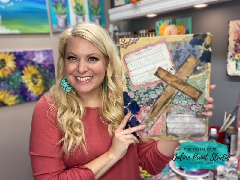 Christie Mixed Media Art for Beginners The Social Easel