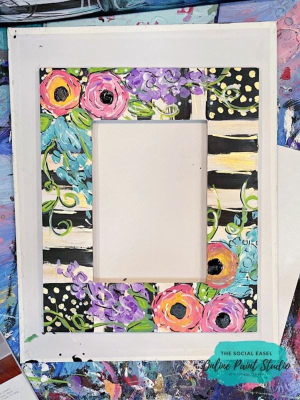 Funky Flower Frame The Social Easel