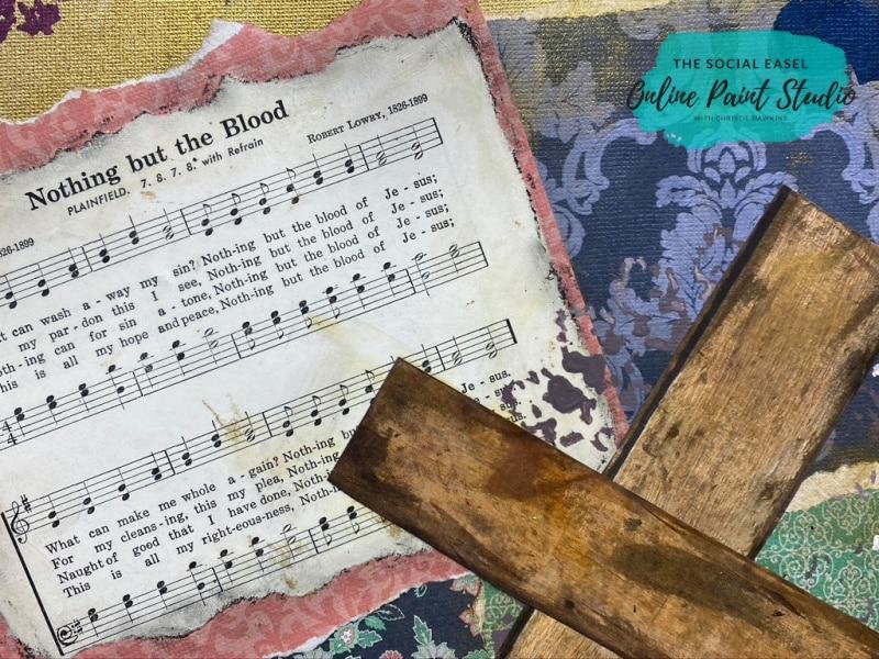Hymn Mixed Media Art for Beginners The Social Easel