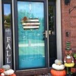 Paint Lettering on a Mackenzie-Childs Inspired Welcome Door Hanger