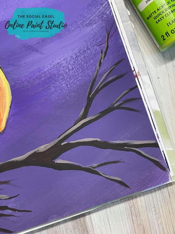 Shading a tree limb The Social Easel